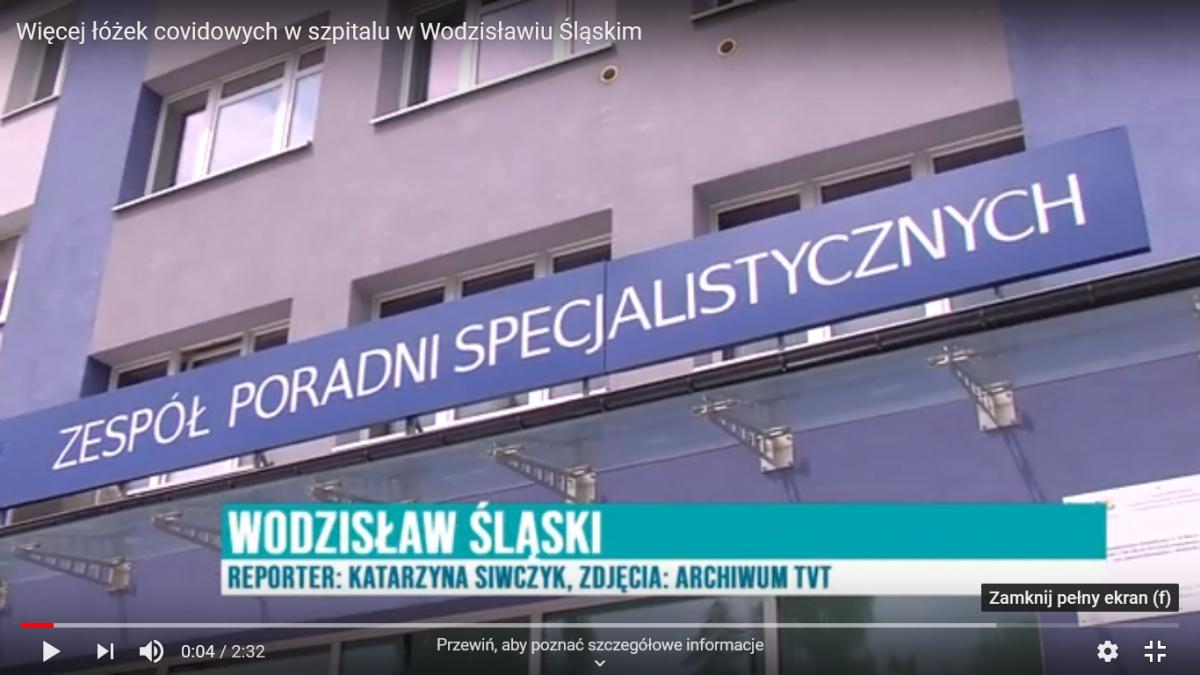 Oddział covidowy na antenie TVT czołówka