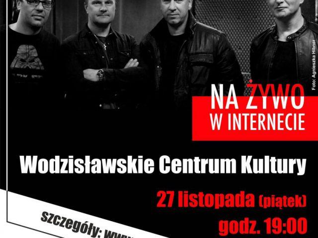 plakat - koncert zespołu Opozycja w WCK
