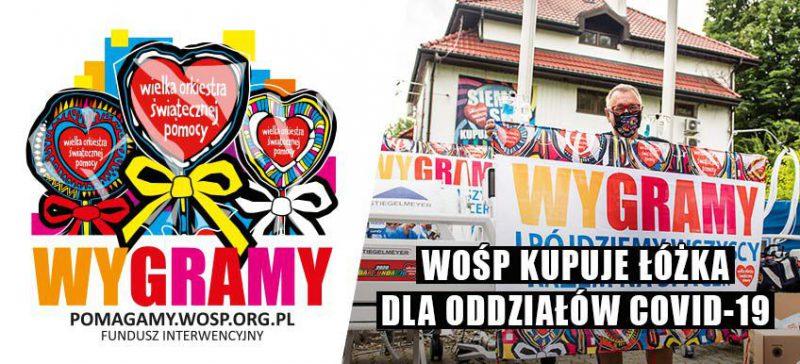 baner WOŚP dla szpitali covid - źródło.www.wosp.org.pl