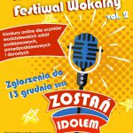 plakat - konkurs wokalny w WCK
