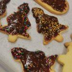 Świąteczne ciasteczka - choinki