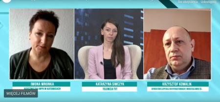 debata tygodnia TVT K.Kowalik w sprawie szczepień - czołówka