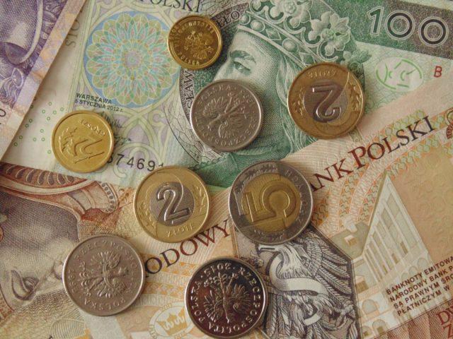 money pieniądze