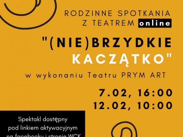 plakat - spektakl w WCK