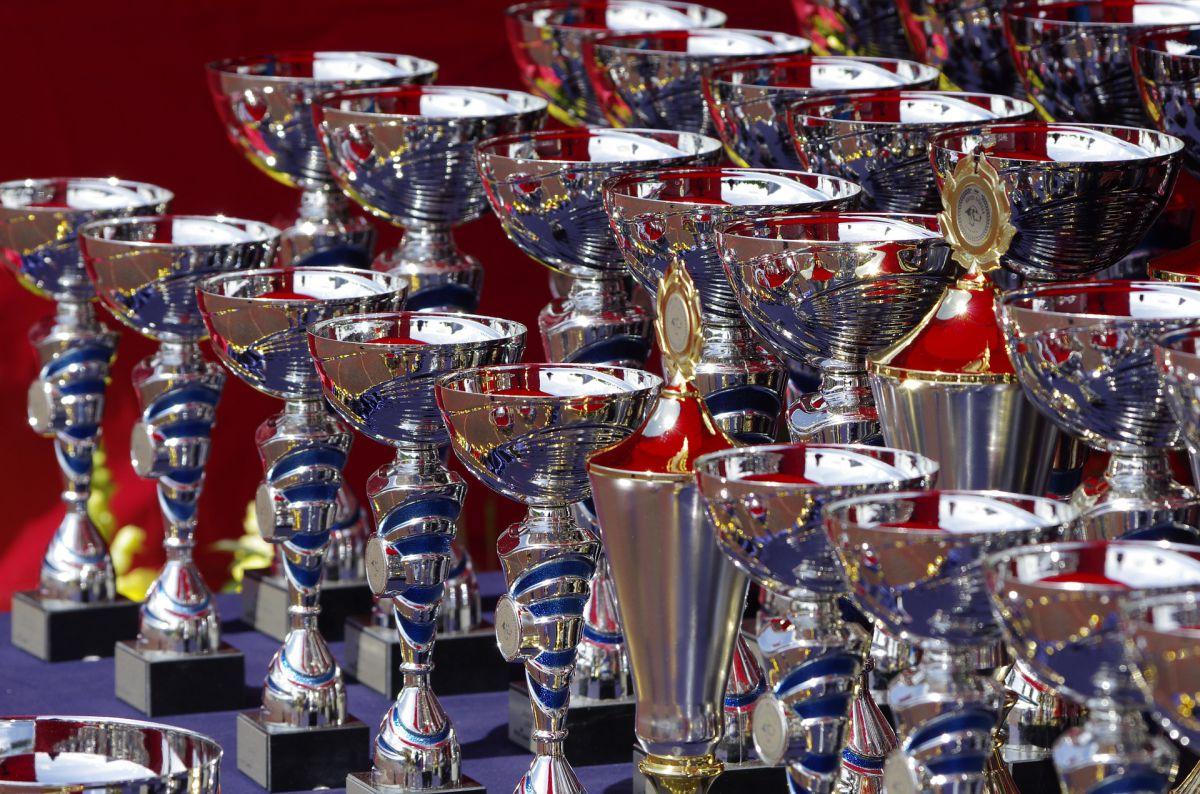 trofeum, puchary, zwycięstwo