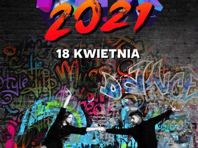 plakat - gala taneczna w WCK