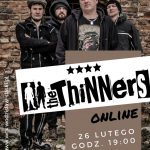 plakat - The Thinners, koncert w WCK