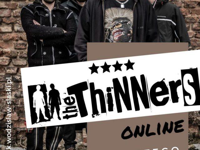 plakat - The Thinners, koncert w WCK