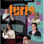 plakat - spektakl Furie w MOK Radlin