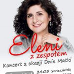 plakat - koncert Eleni w WCK