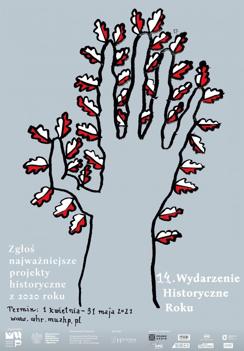 Plakat plebiscytu na Wydarzenie Historyczne Roku 2020