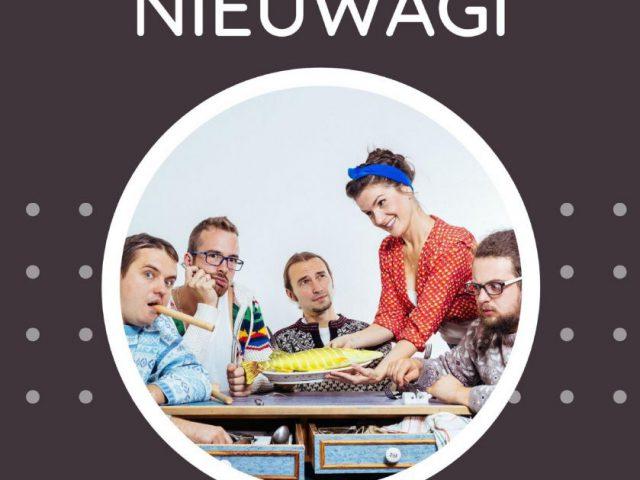 """plakat - koncert zespołu """"Chwila Nieuwagi"""" w WCK"""