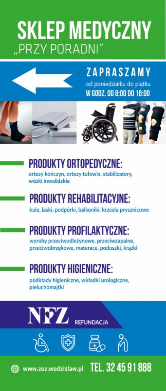 sklep medyczny infografika