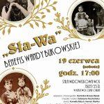 plakat - Benefis Wandy Bukowskiej w WCK