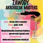 plakat - pierwsze zawody akrobatyczne w WCK