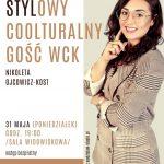 plakat - spotkanie z Nikoletą Ojcowicz - Kost w WCK