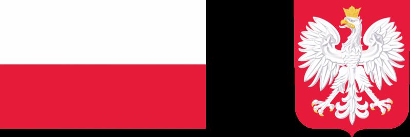flaga i godło RP na www