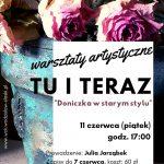 plakat - warsztaty artystyczne w WCK