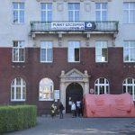 Punkt Szczepień w szpitau w Rydułtowach - budynek
