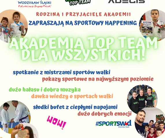 plakat - Akademia Top Team dla wszystkich