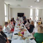 Dzień rodzicielstwa zastępczego w powiecie wodzisławskim 2021 na zdjęciu uczestnicy spotkania (1)