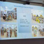 Skrin statystyk biblioteki w Mszanie