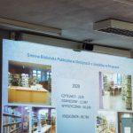 Skrin statystyk biblioteki w Rogowie