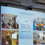 Skrin statystyk biblioteki w Godowie