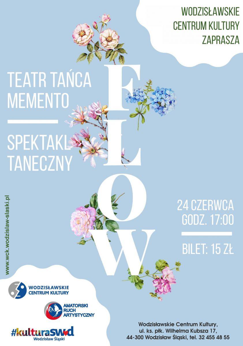 plakat - widowisko Teatru Memento w WCK