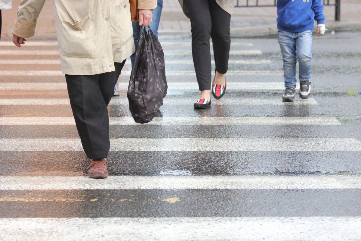 przejście dla pieszych popularnie nazywane zebrą