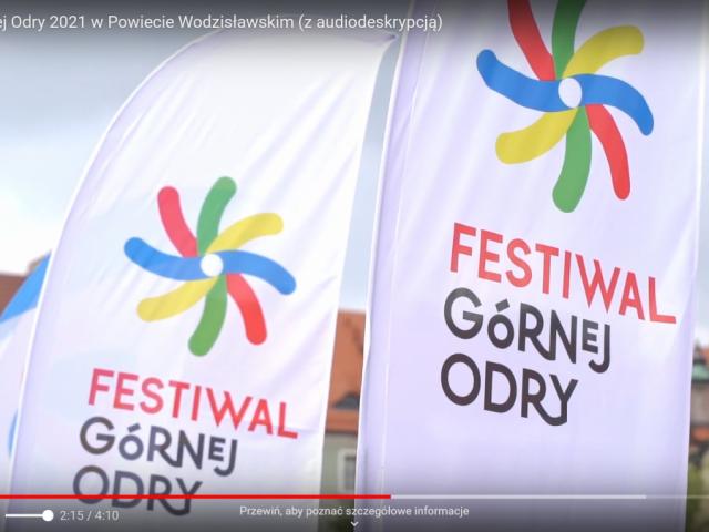 czołówka wideorelacji z Festiwalu Górnej Odry 2021