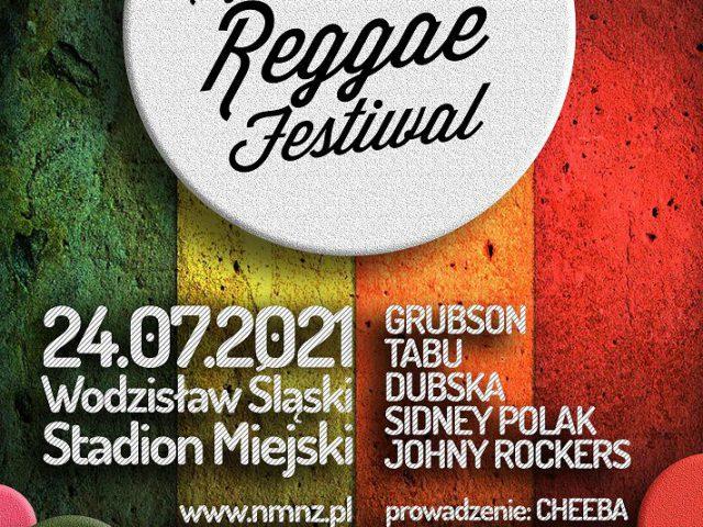 plakat - Reggae Festiwal w Wodzisławiu Śl.