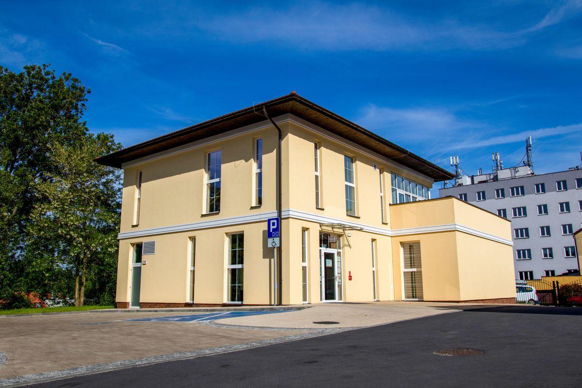 Oaza Aktyywności w Wodzisławiu Śl. foto. D. Szuba; foto ogólne budynku Oazy