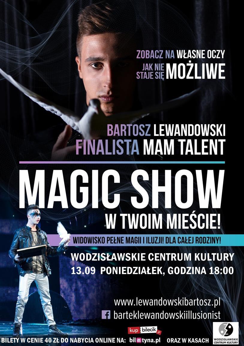 plakat - Magiczny występ w WCK