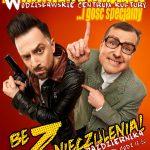 plakat - kabaret Paranienormalni w WCK