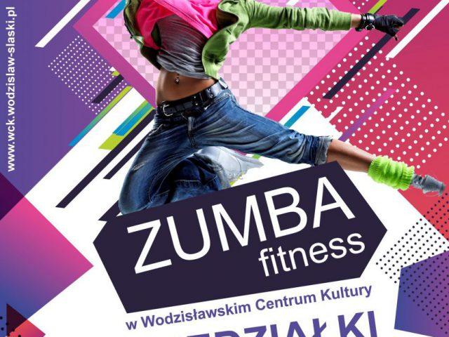 plakat - zajęcia zumba fitness w WCK