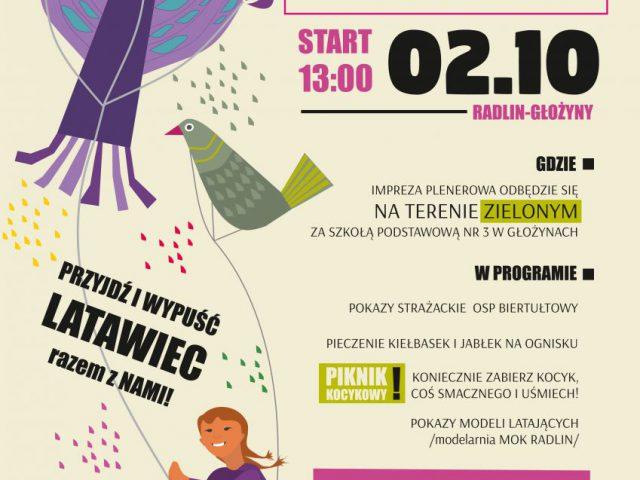 plakat - Święto Latawca 2021 w Radlinie