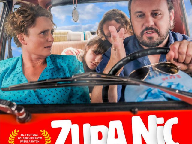 "plakat do filmu ""Zupa nic"""
