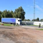 akcja Road Safety Days w Wodzisławiu Śl. 21 wrzesnia 2021 widok ogólny patrolu