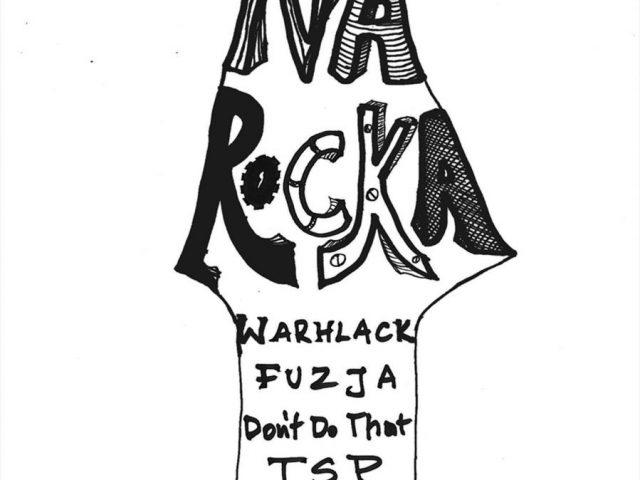 """plakat z informacją o koncercie """"Oko na rocka"""" """""""