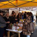 Festyn Barwy Jesieni w Oazie Aktywności w Wodzisławiu Śl. Fotorelacja z imprezy 12.10.2021 r. Na zdjęciu uczestnicy
