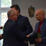 Powiatowe obchody Dnia Edukacji Narodowej 13 października 2021. Na zdjęciu uczestnicy uroczystości-compressed