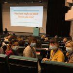 Wizyta nauczycielek Ekonomika w Wodzisławiu Śl. w Helsinkach na kursie metodycznym. Na zdjęciu uczestnicy spotkania (3)