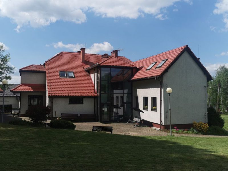 budynek Powiatowego Ośrodfka Wsparcia Perła w Wodzisławiu Śl.