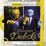 """plakat - """"Koncert jesienny"""" w WCK"""