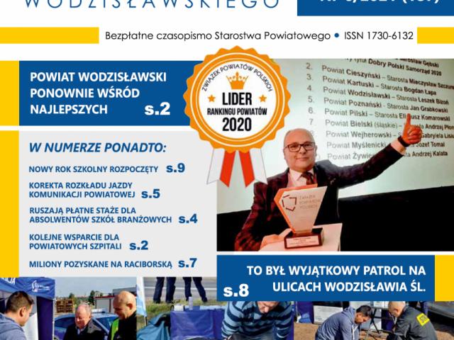 okładka wieści powiatu wodzisławskiego nr 6 z 2021 r.